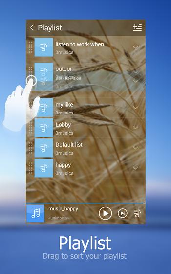 Music Player + - screenshot