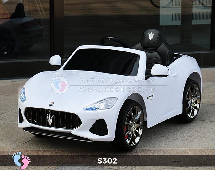 Ô tô cho trẻ em cao cấp Maserati S-302 13