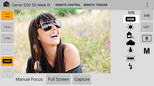 DSLR Remote Control - Camera screenshot 4