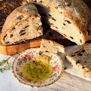 Olive Thyme Bread