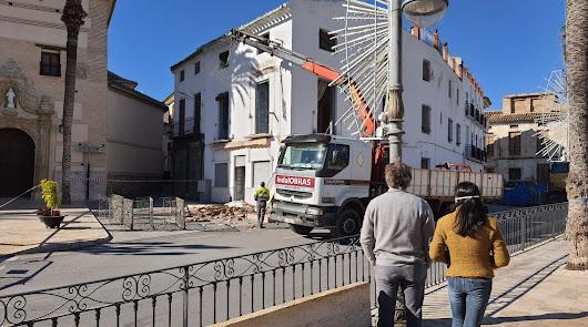 Adiós a la 'Casa de Adolfo Juan', un edificio que llevaba en pie desde el XIX