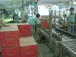 Photo: They box them and brand them differently.  The factory had dozens of different brand (or off brand) names.