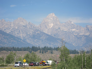 Photo: Grand Teton from Moose entrance