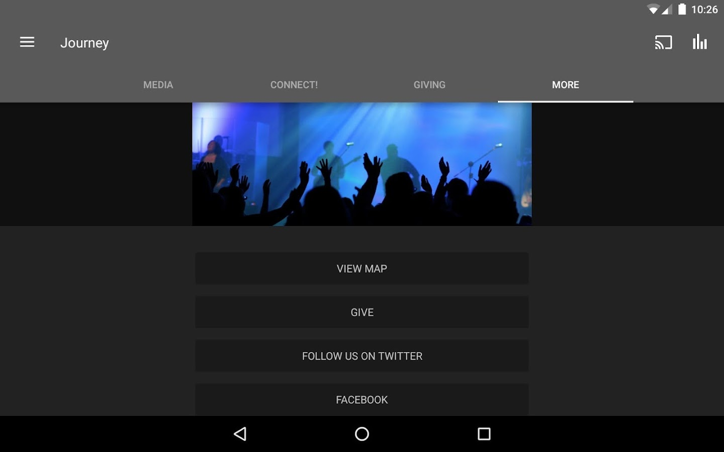 MyJourney.TV App- screenshot