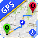 GPS Maps, Voice Navigation & Traffic Road Map icon