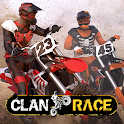 Clan Race: Xtreme Real Time PVP Motocross icon