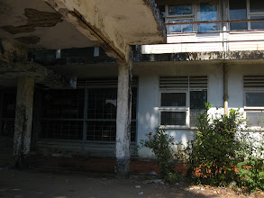 Photo: Another student hostel of Yangon university without maintenance
