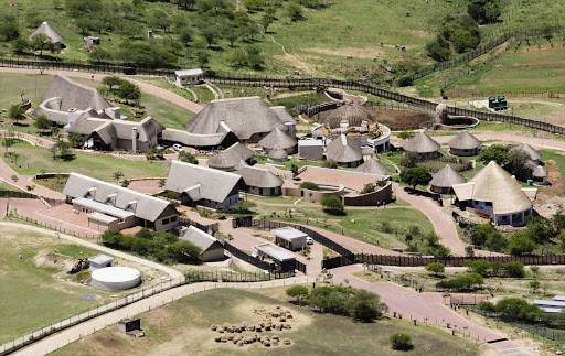 Former president Jacob Zuma's Nkandla residence in KwaZulu-Natal. The town is in the spotlight over a fight between the IFP-controlled municipality and the ANC over the municipal manager's qualifications.