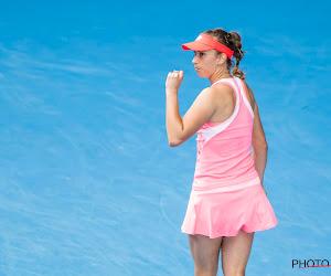 Elise Mertens door naar derde ronde ondanks verlies in eerste set