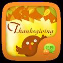 GO SMS THANKSGIVING THEME icon