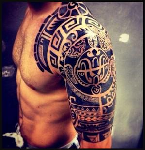 Arm Tattoo Design - náhled