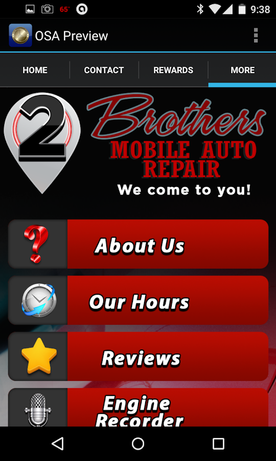 Two Brothers Mobile Auto- screenshot