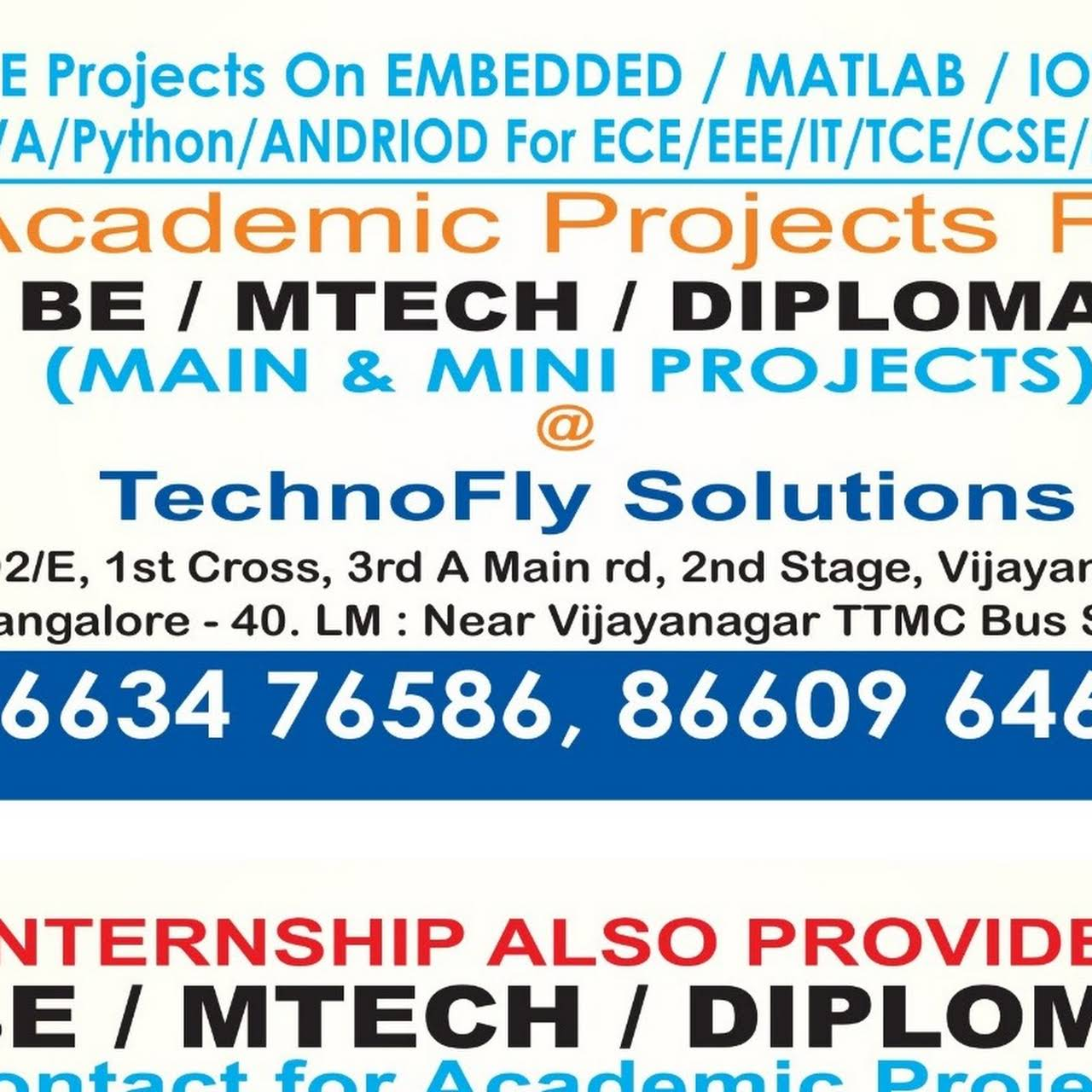 Technofly Solutions - Institute Of Technology in Bengaluru