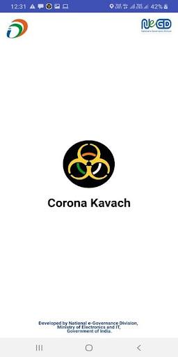 Corona Kavach screenshot 1