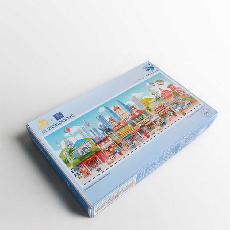 Puzzle: Colorful Malaysia by Loka Made