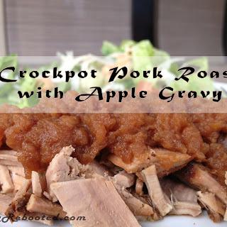 Gluten-Free Pork Roast with Apple Gravy