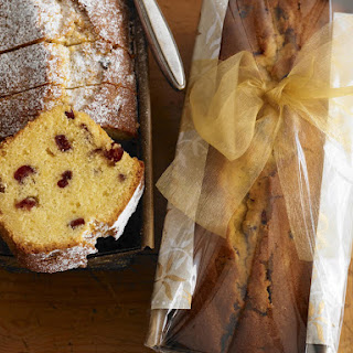 Buttery Almond and Cranberry Loaves