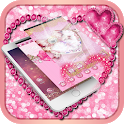 Pink Rose Flowers Love Themes and wallpaper icon