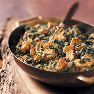 Creamy Spinach and Cheese Casserole.