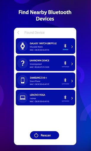 Bluetooth Finder & Scanner screenshots 1
