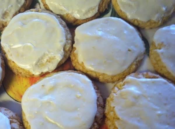 Iced Lemon Drop Cookies