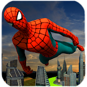 Flying Spider Hero City Rescue