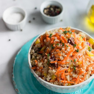 Carrot Quinoa Salad