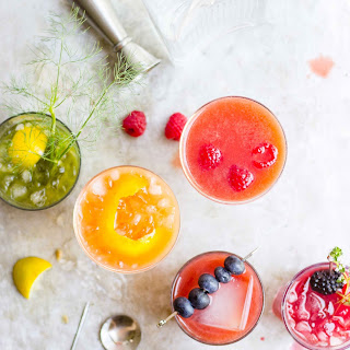 Cold-Pressed Gin + Juice Cocktails