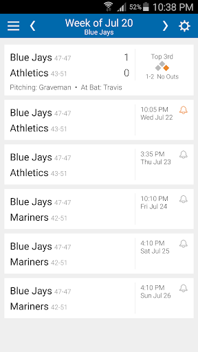 Baseball Schedule Blue Jays