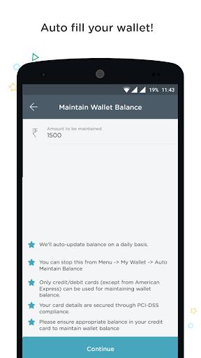 Recharge, Bills, Wallet, Bus screenshot 6