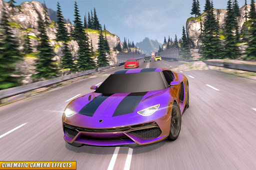 Drive in Car on Highway : Racing games 2.2 Screenshots 5