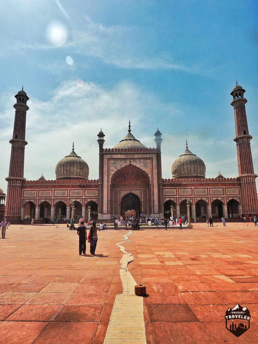 Jama Masjid mosque New Delhi