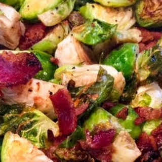 Brussel Sprouts with Bacon.