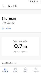 App Spectrum Mobile Account APK for Windows Phone