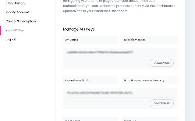 Elegant API Manager