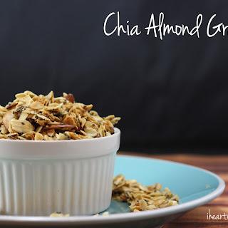 Chia Almond Granola