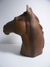 Photo: SOLD David Sharpe Rye pottery. Much bigger than it looks 28cms tall and is heavy