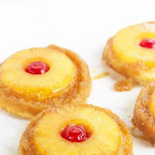 Pineapple Upside Down Sugar Cookies.