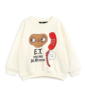 Mini Rodini E.T. Sweatshirt Off White