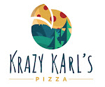 Logo for Krazy Karl's Pizza