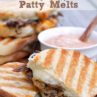 Leftover Pot Roast Patty Melts.