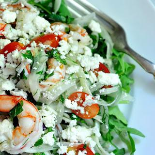 Shrimp with Tomatoes, Fennel, Feta and Ouzo Recipe