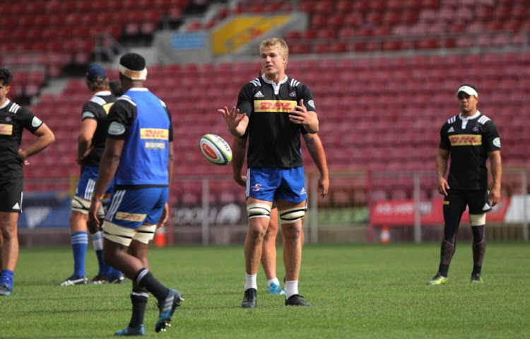 Pieter Steph du Toit during the DHL Stormers training session and press conference at DHL Newlands Stadium on May 25, 2017 in Cape Town, South Africa.