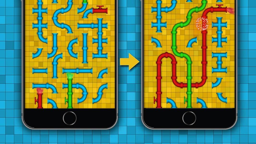 Pipe - logic puzzles