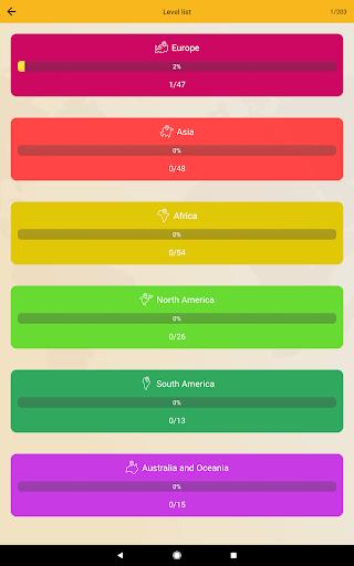 World Geography Quiz: Countries, Maps, Capitals screenshots apkspray 15