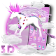 3D Cute Unicorn Theme (app)