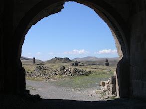 Photo: Walking through the walls into the ruined ancient Armenia capital, Ani.