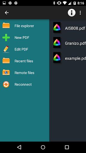 MaxiPDF PDF editor & builder screenshots 7