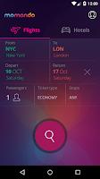 Screenshot of momondo Cheap Flights & Hotels