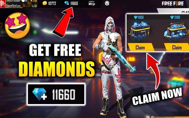 Free Fire Diamond Giveaway 2021